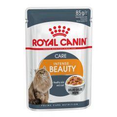 Royal Canin - Nassfutter - Health Intense Beauty Katzenfutter nass in Gelee für schönes Fell