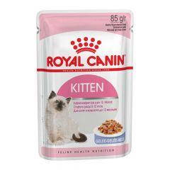 Royal Canin - Nassfutter - Kitten Nassfutter in Gelee für Kätzchen