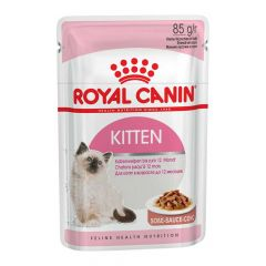 Royal Canin - Nassfutter - Kitten Nassfutter in Soße für Kätzchen