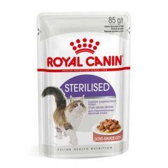 Royal Canin - Nassfutter - Health Sterilised Nassfutter in Soße für kastrierte Katzen