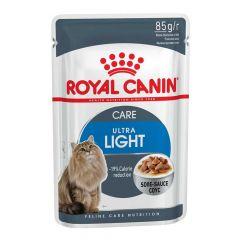 Royal Canin - Nassfutter - Health Ultra Light Nassfutter in Soße für übergewichtige Katzen