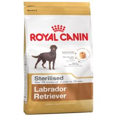 Royal Canin - Trockenfutter - Breed Labrador Retriever Adult Sterilised Trockenfutter für kastrierte Hunde
