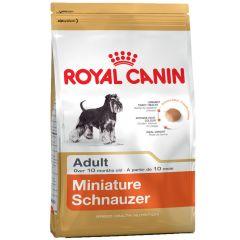 Royal Canin - Trockenfutter - Breed Miniature Schnauzer Adult Hundefutter trocken für Zwergschnauzer