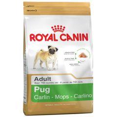 Royal Canin - Trockenfutter - Breed Pug Adult Hundefutter trocken für Mops