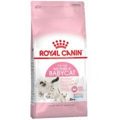 Royal Canin - Trockenfutter - Mother & Babycat Katzenfutter für tragende Katzen und Kitten