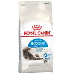 Royal Canin - Trockenfutter - Health Indoor Longhair Trockenfutter für Wohnungskatzen mit langem Fell