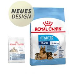 Royal Canin - Trockenfutter - Size Maxi Starter für tragende Hündin und Welpen