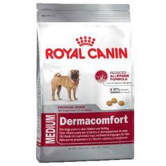 Royal Canin - Trockenfutter - Size Medium Dermacomfort Trockenfutter für mittelgroße Hunde mit empfindlicher Haut 3kg