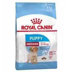 Royal Canin - Trockenfutter - Size Medium Puppy Welpenfutter trocken für mittelgroße Hunde 4kg