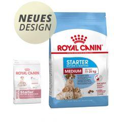 Royal Canin - Trockenfutter - Size Medium Starter für tragende Hündin und Welpen