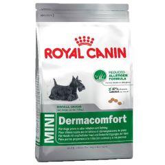 Royal Canin - Trockenfutter - Size Mini Dermacomfort Trockenfutter für kleine Hunde mit empfindlicher Haut