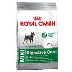 Royal Canin - Trockenfutter - Size Mini Digestive Care Trockenfutter für kleine Hunde mit empfindlicher Verdauung