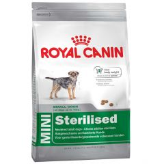 Royal Canin - Trockenfutter - Size Mini Sterilised Trockenfutter für kastrierte kleine Hunde