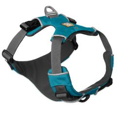 Ruffwear - Hundegeschrirr - Front Range Harness Pacific Blue 33-43cm