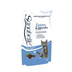 Sanabelle - Katzensnack - Sticks mit Lamm & Holunder