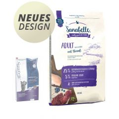 Sanabelle - Trockenfutter - Adult Strauß