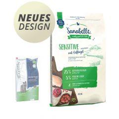 Sanabelle - Trockenfutter - Sensitive Geflügel