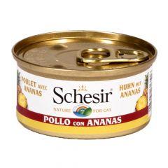 Schesir - Nassfutter - Fruit Hühnerfilet mit Ananas