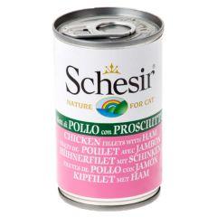 Schesir - Nassfutter - Jelly Hühnerfilet mit Schinken