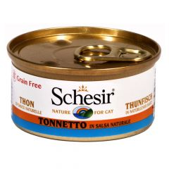 Schesir - Nassfutter - Thunfisch in natürlicher Soße