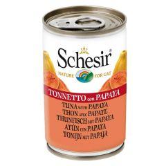 Schesir - Nassfutter - Jelly Thunfisch mit Papaya