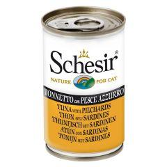 Schesir - Nassfutter - Jelly Thunfisch mit Sardinen