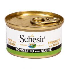 Schesir - Nassfutter - Jelly Thunfisch mit Algen