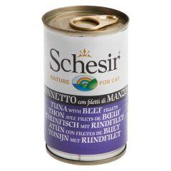 Schesir - Nassfutter - Jelly Thunfisch mit Rinderfilet