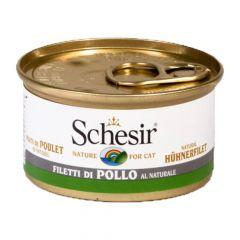 Schesir - Nassfutter - Natural Hühnerfilet mit Reis