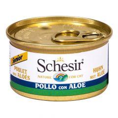 Schesir - Nassfutter - Senior Huhn mit Aloe