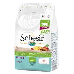 Schesir - Trockenfutter - Bio Kitten