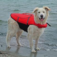 Trixie - Hundezubehör - Schwimmweste Rot/Schwarz