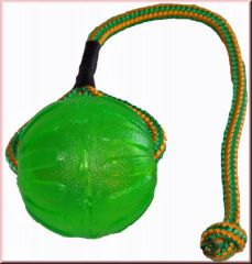 StarMark - Hundespielzeug - Everlasting Fun Ball on a Rope