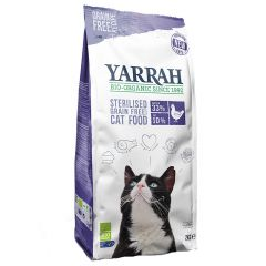 Yarrah - Trockenfutter - Probe: Sterilised Cat 700g (getreidefrei)
