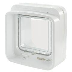 SureFlap - Katzenklappe - DualScan Mikrochip Katzenklappe Weiß