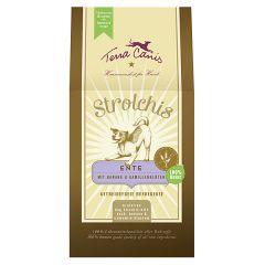 Terra Canis - Hundesnack - Strolchis Ente mit Banane & Kamillenblüten (getreidefrei)