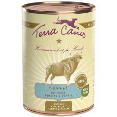 Terra Canis - Nassfutter - Büffel mit Hirse, Tomaten & Papaya