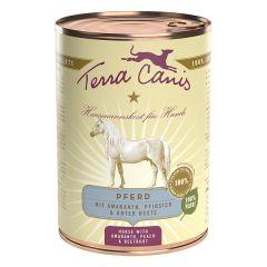 Terra Canis - Nassfutter - Pferd mit Amaranth, Pfirsich und roter Beete (getreidefrei)