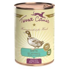 Terra Canis - Nassfutter - Classic Ente mit Naturreis, roter Beete, Birne & Sesam