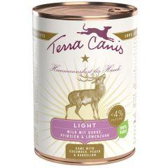 Terra Canis - Nassfutter - Light Wild mit Gurke, Pfirsich und Löwenzahn (getreidefrei)