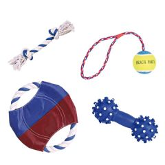 Trixie - Hundespielzeug - Spielset Sun'n'Fun