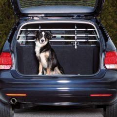 Trixie - Hundezubehör - Auto-Schutzgitter in Silber/Schwarz 96-163cm x 34-48cm