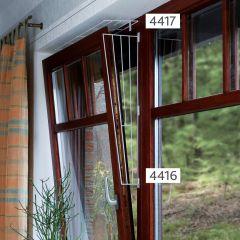 Für Katzen - Trixie - Katzenzubehör - Schutzgitter für Fenster 62 x 16/8cm