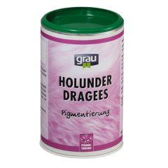 grau - Ergänzungsfutter - Holunder Dragees