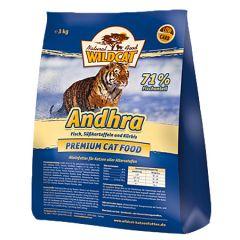 Wildcat - Trockenfutter - Andhra mit Fisch (getreidefrei)
