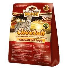 Wildcat - Trockenfutter - Cheetah mit Wildfleisch, Lachs und Truthahn (getreidefrei)