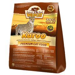 Wildcat - Trockenfutter - Karoo mit Kaninchen, Geflügel und Fisch (getreidefrei)