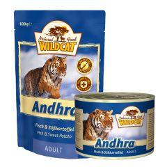 Wildcat - Nassfutter - Andhra mit Fisch und Süßkartoffel (getreidefrei)