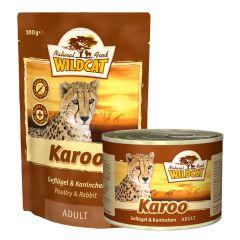 Wildcat - Nassfutter - Karoo Adult mit Geflügel und Kaninchen (getreidefrei)