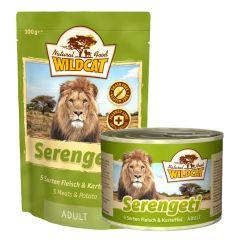 Wildcat - Nassfutter - Serengeti Adult mit 5 Sorten Fleisch und Kartoffel (getreidefrei)
